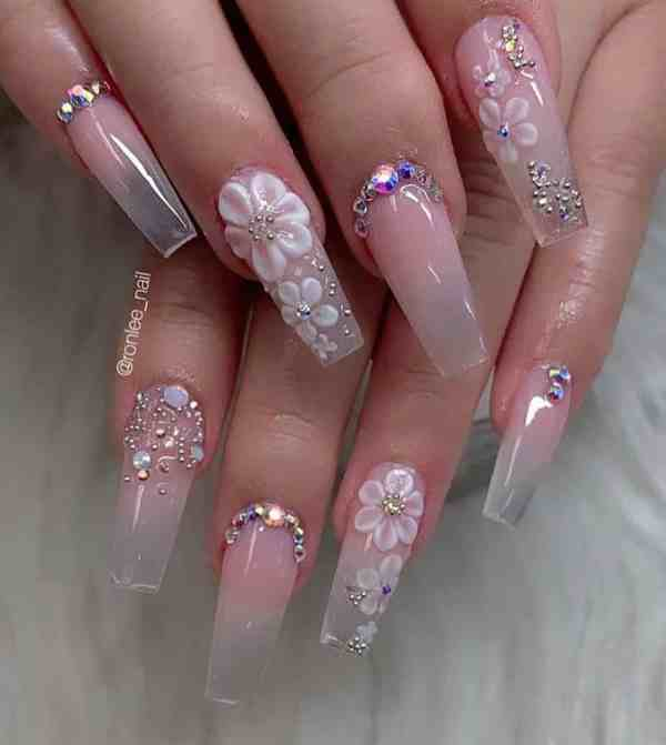 long coffin nail 2020013174 - 80+ Charming Long Coffin Nail Designs in 2020