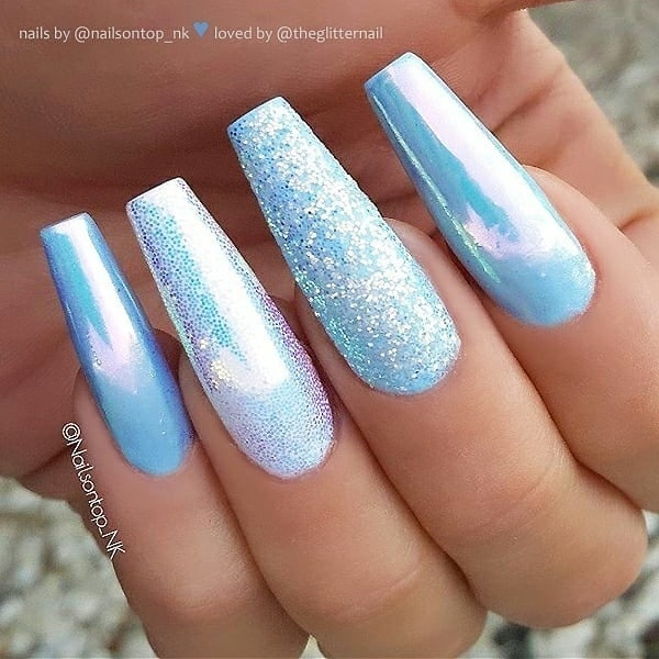 winter nail 20200201113 - 190+ Amazing Spring And Winter Nail Designs Ideas