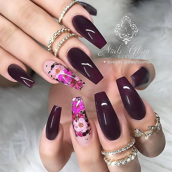 winter nail 20200201145 - 190+ Amazing Spring And Winter Nail Designs Ideas