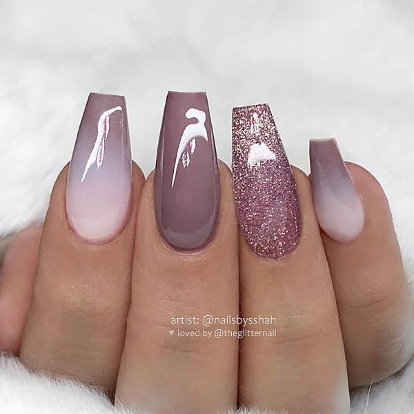 winter nail 20200201165 - 190+ Amazing Spring And Winter Nail Designs Ideas