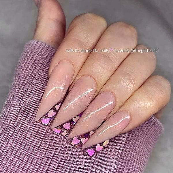 winter nail 2020020121 - 190+ Amazing Spring And Winter Nail Designs Ideas