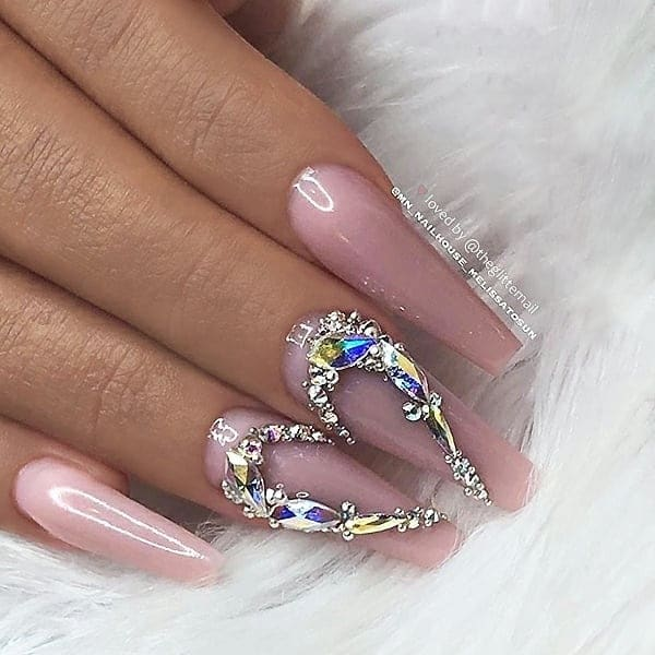 winter nail 2020020131 - 190+ Amazing Spring And Winter Nail Designs Ideas