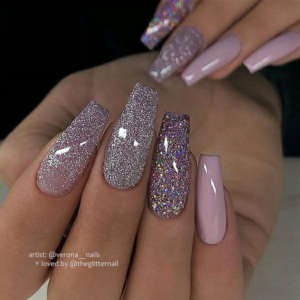 winter nail 2020020132 - 190+ Amazing Spring And Winter Nail Designs Ideas