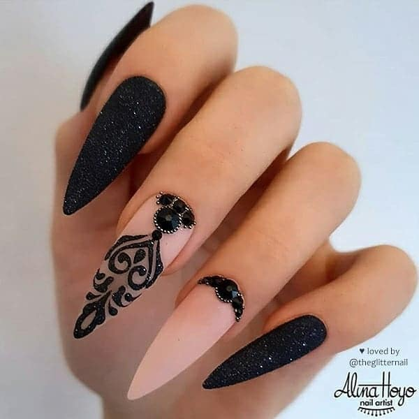winter nail 2020020137 - 190+ Amazing Spring And Winter Nail Designs Ideas