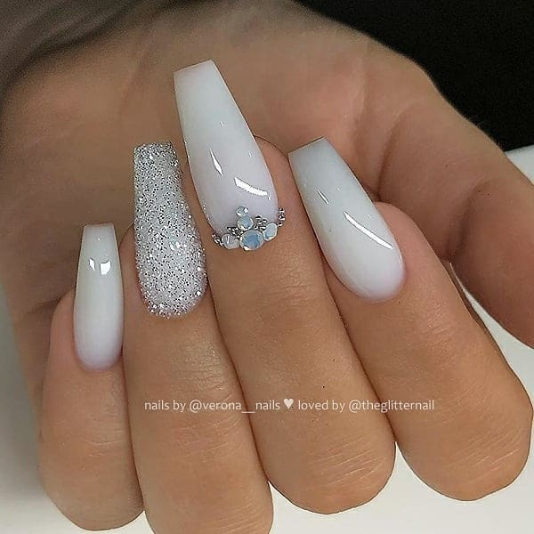 winter nail 2020020160 - 190+ Amazing Spring And Winter Nail Designs Ideas