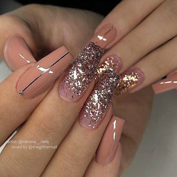 winter nail 2020020161 - 190+ Amazing Spring And Winter Nail Designs Ideas