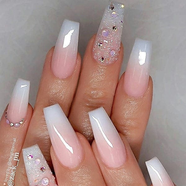 winter nail 2020020163 - 190+ Amazing Spring And Winter Nail Designs Ideas