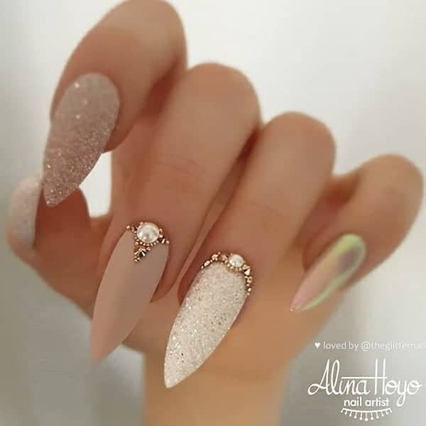 winter nail 2020020170 - 190+ Amazing Spring And Winter Nail Designs Ideas