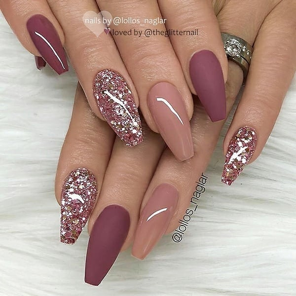 winter nail 2020020199 - 190+ Amazing Spring And Winter Nail Designs Ideas
