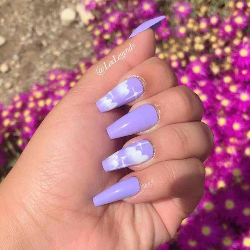 Pretty Acrylic Coffin Nail Designs You Should Try 2020