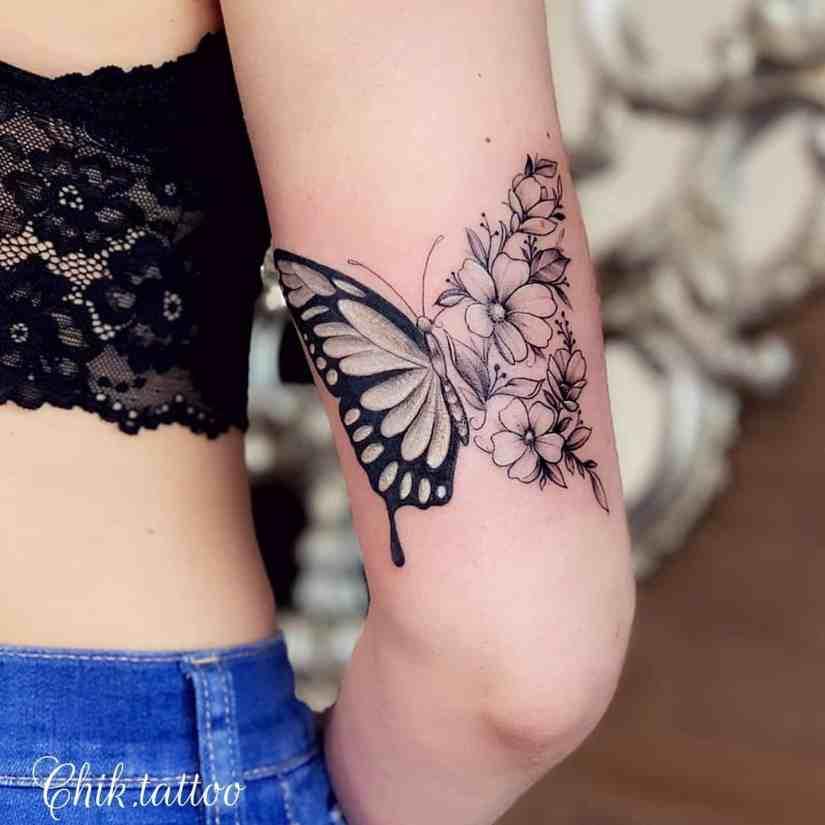 Arm Tattoo 2020030101 - Trendy Arm Tattoo Ideas for Women