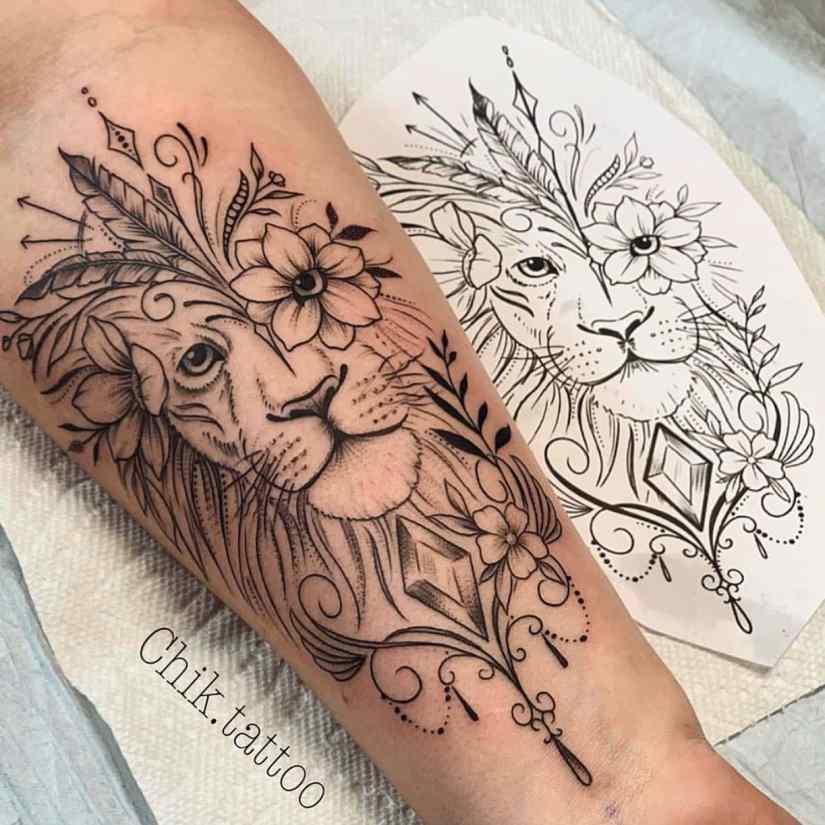 Arm Tattoo 2020030108 - Trendy Arm Tattoo Ideas for Women