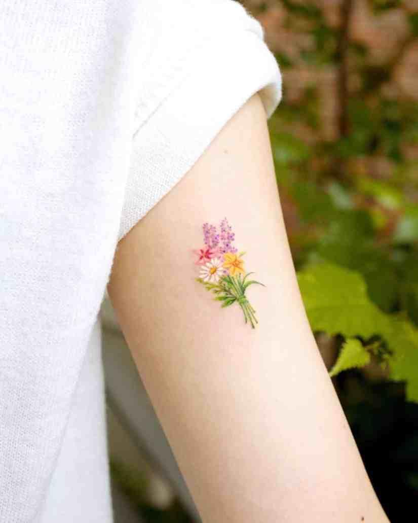 Daisy Tattoo 2020062813 - The Best Daisy Tattoo Ideas and Meaning
