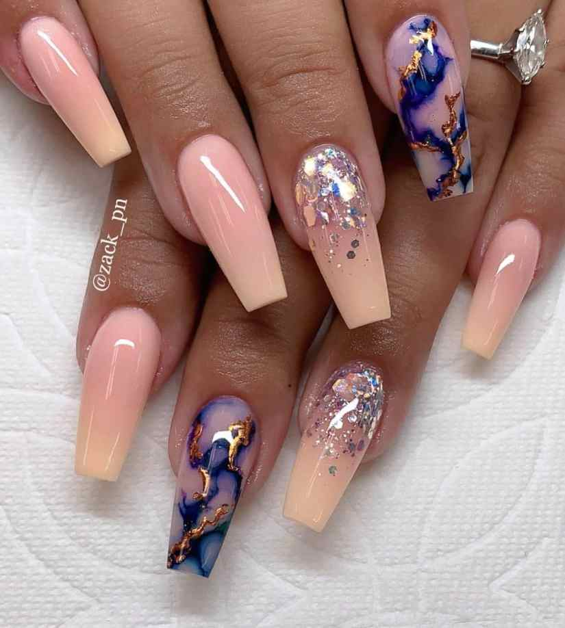 Top 20 Coffin Nail Designs Trends 2018 - Fashion 2D
