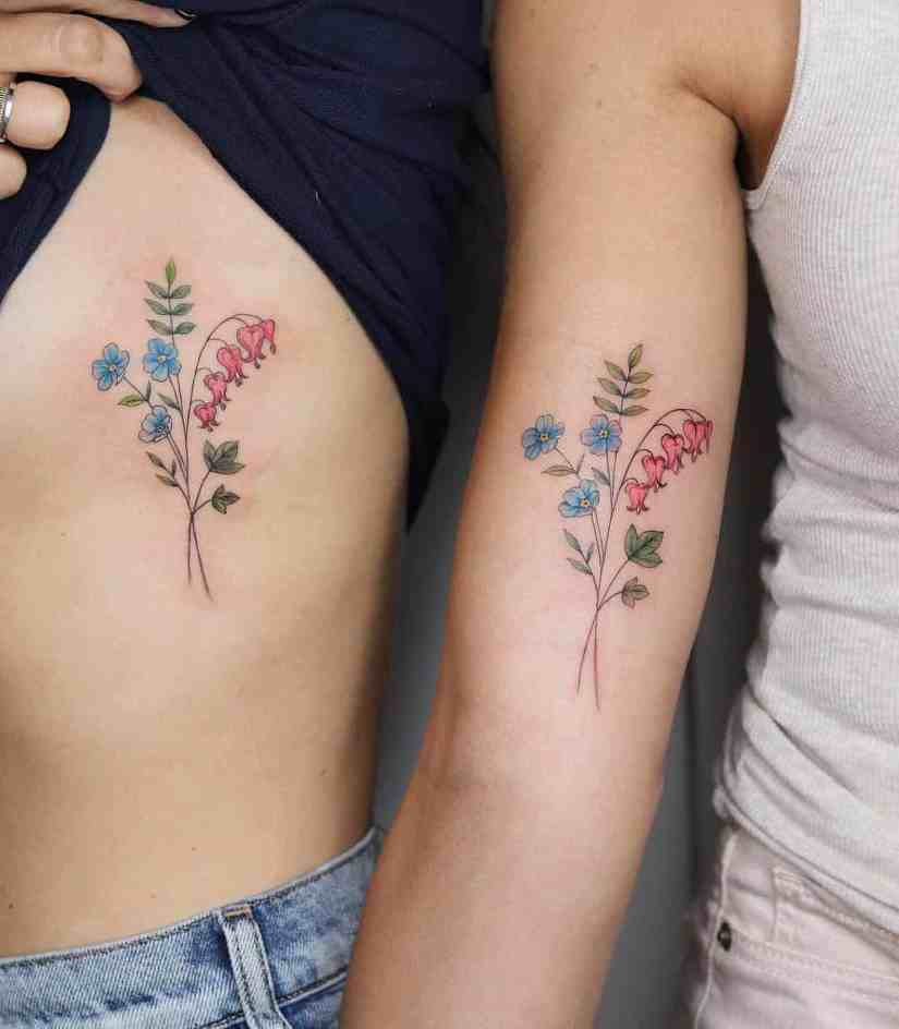 forget me not flower tattoo 2020062107 - Forget-Me-Not Flower Tattoo Meaning