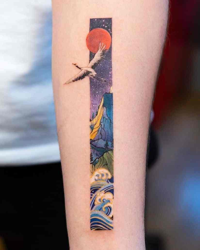frame tattoo 2020050212 - Exquisite Frame Tattoo Designs Shock You