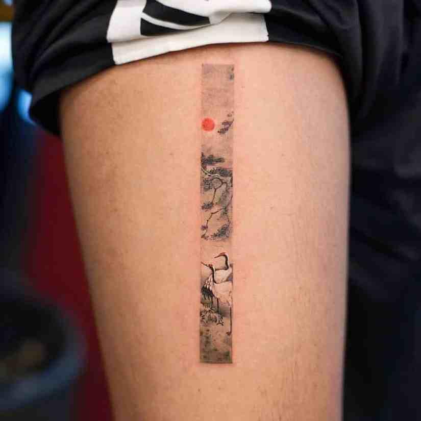 frame tattoo 2020050220 - Exquisite Frame Tattoo Designs Shock You