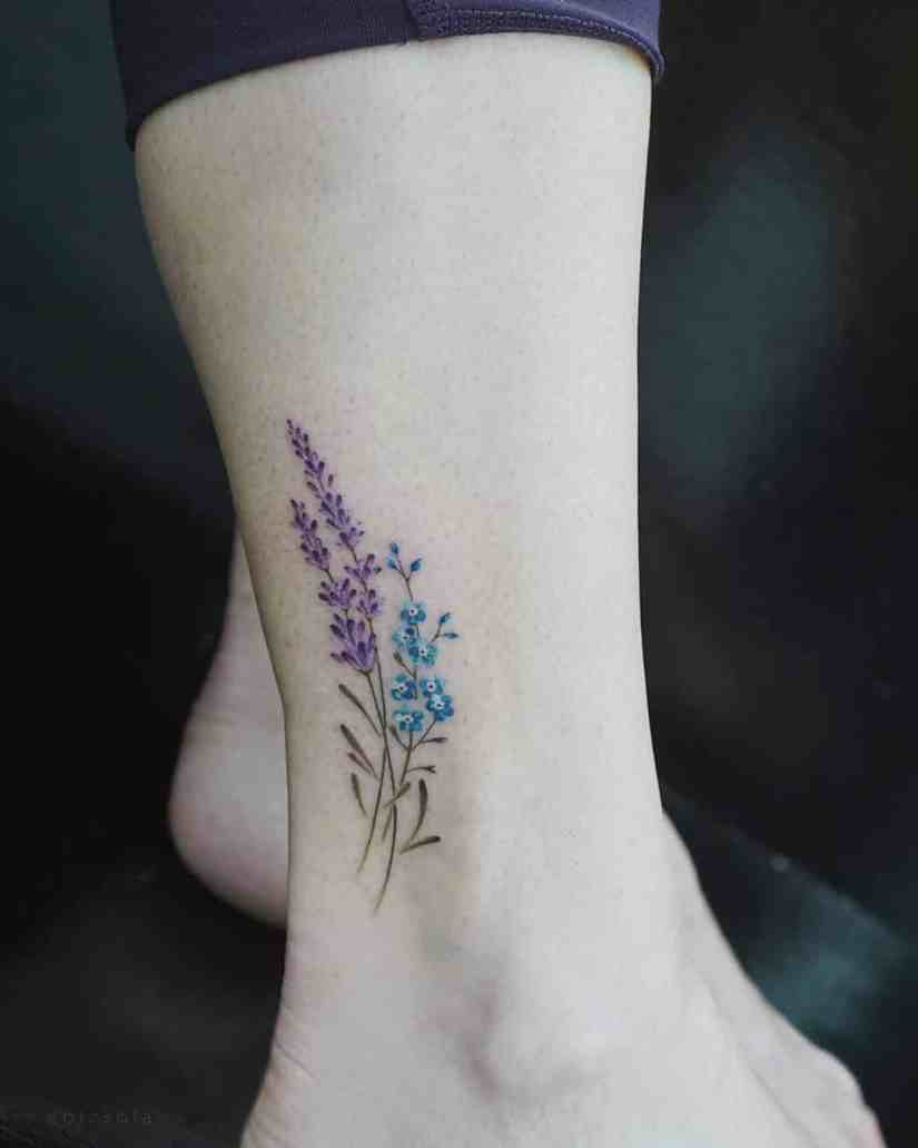Forget Me Not Tattoo 2020072209 - 10+ The Best Forget-Me-Not Tattoo Designs