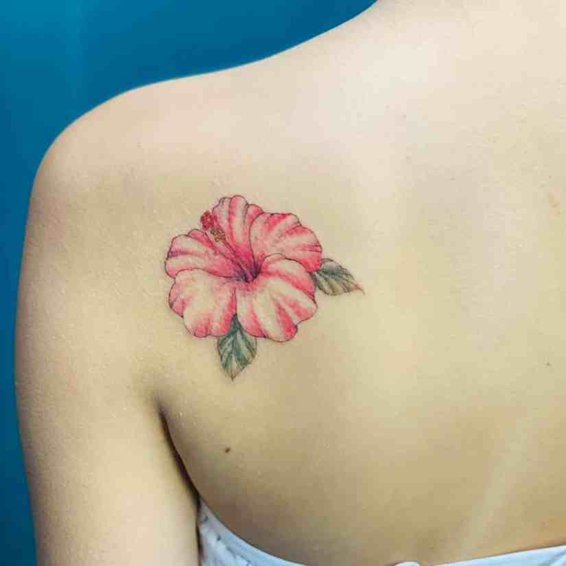 Hibiscus Tattoo 2020073006 - 20 Best Hibiscus Tattoo Designs to Inspire You