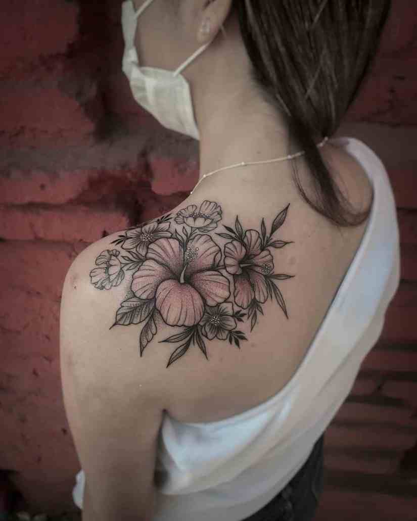 Hibiscus Tattoo 2020073012 - 20 Best Hibiscus Tattoo Designs to Inspire You