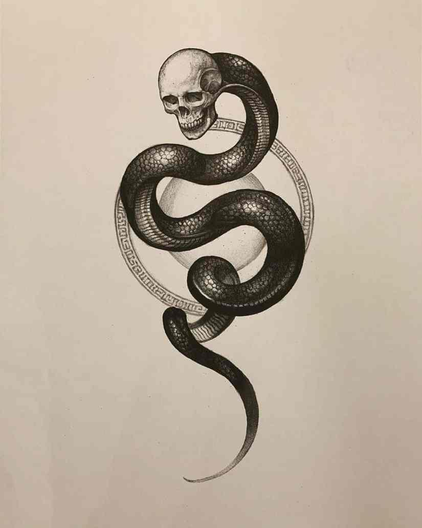 skull tattoo 2020070504 - 10 Best Skull Tattoo Designs and Meaning