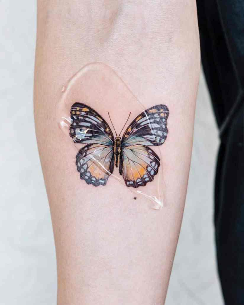 Butterfly tattoo designs 2020080201 - 20+ Best Butterfly Tattoo Designs 2020