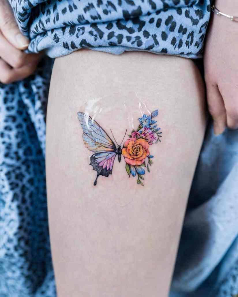 Butterfly tattoo designs 2020080205 - 20+ Best Butterfly Tattoo Designs 2020