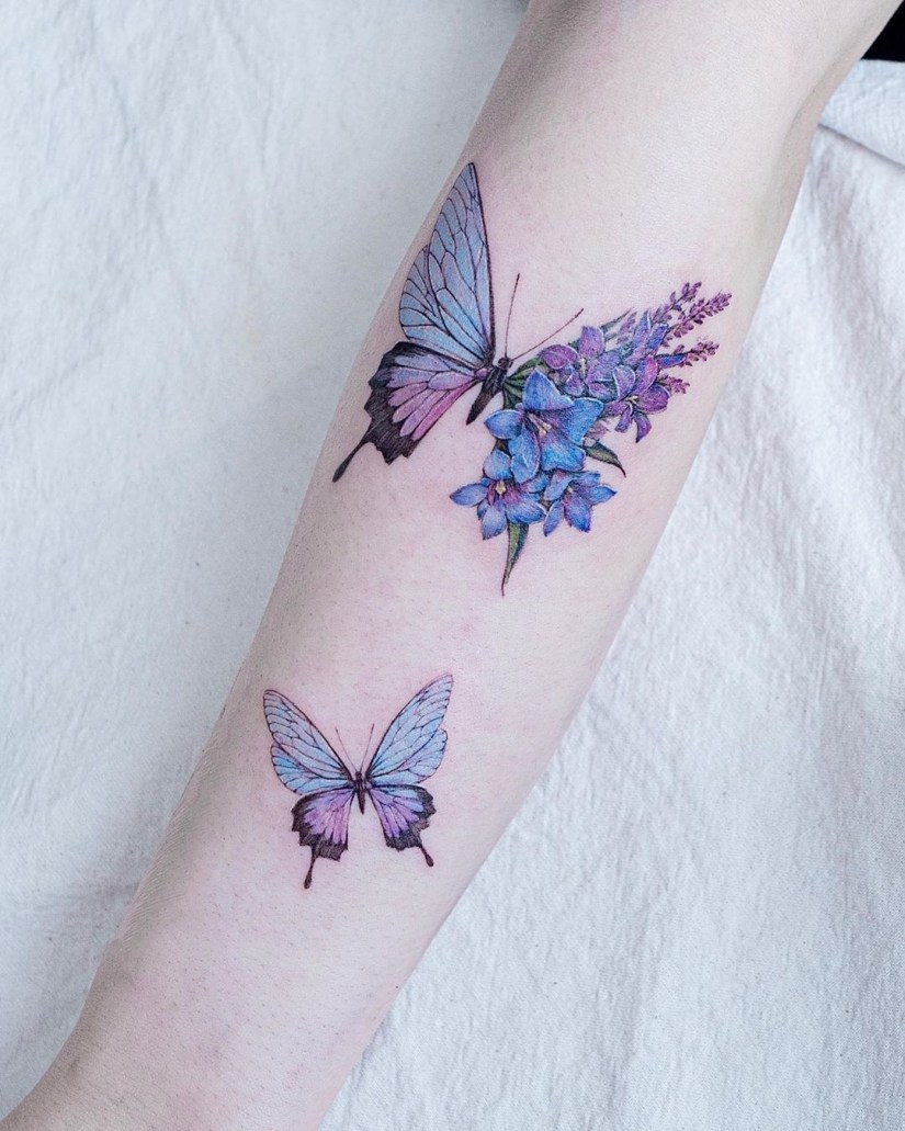Butterfly tattoo designs 2020080209 - 20+ Best Butterfly Tattoo Designs 2020