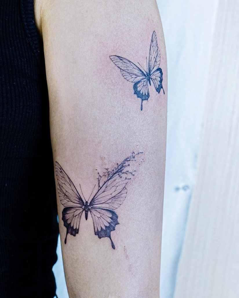Butterfly tattoo designs 2020080213 - 20+ Best Butterfly Tattoo Designs 2020