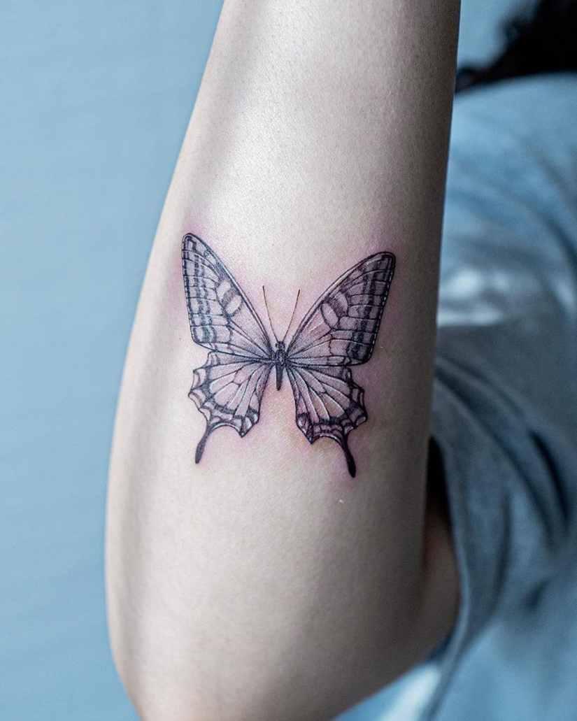Butterfly tattoo designs 2020080214 - 20+ Best Butterfly Tattoo Designs 2020