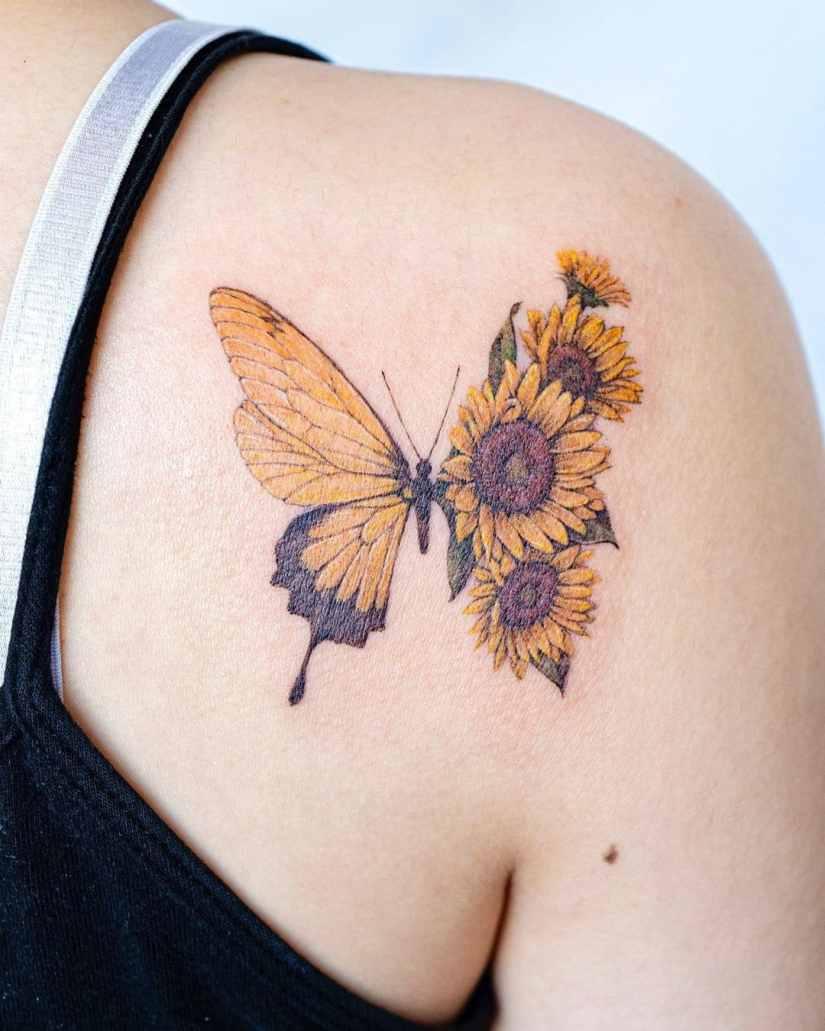 Butterfly tattoo designs 2020080219 - 20+ Best Butterfly Tattoo Designs 2020