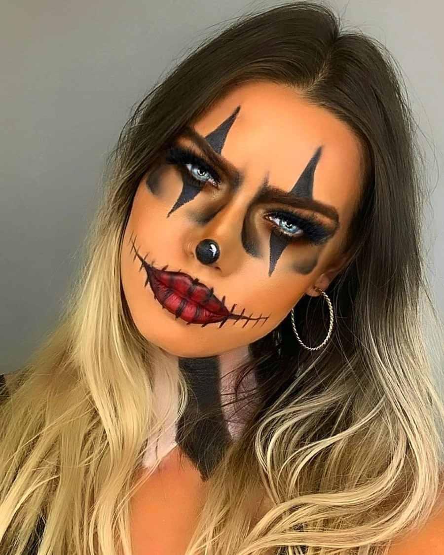 Halloween Skull Makeup 2020083003 - 10+ Scary Halloween Skull Makeup Ideas