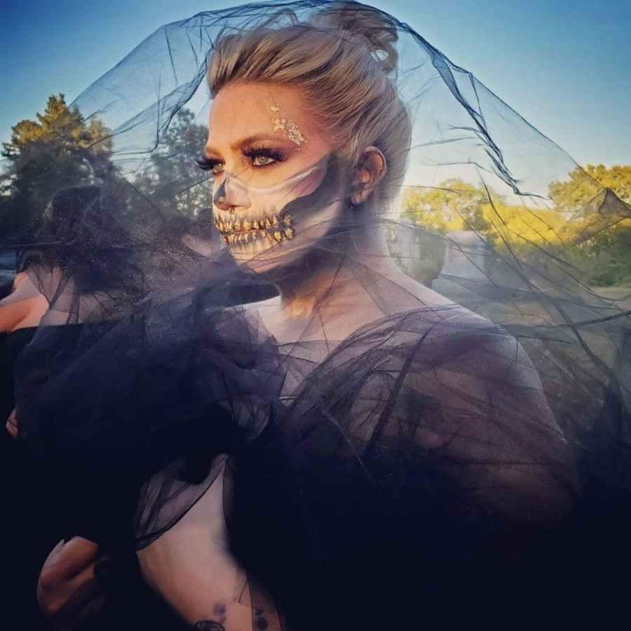 Halloween Skull Makeup 2020083015 - 10+ Scary Halloween Skull Makeup Ideas