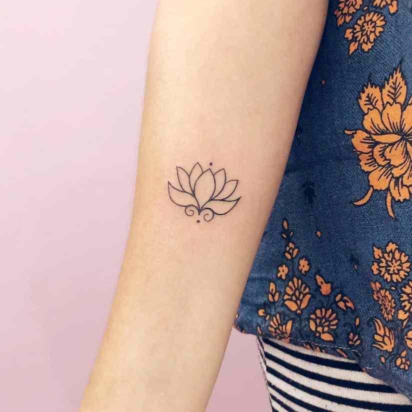 Lotus Tattoos 2020081913 - 20+ Amazing Lotus Tattoos & Meanings