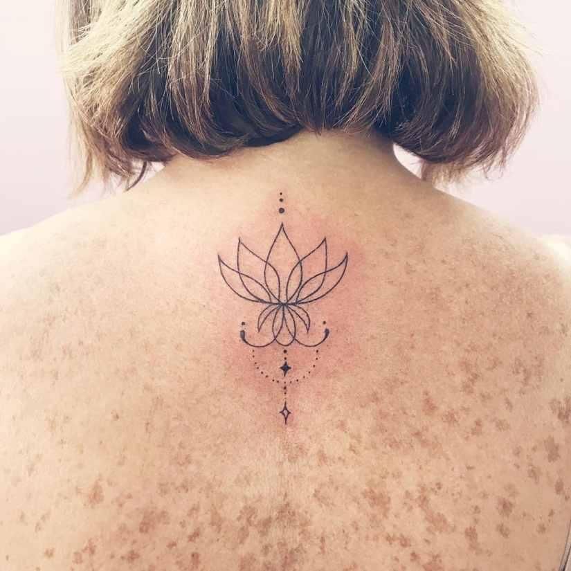 Lotus Tattoos 2020081915 - 20+ Amazing Lotus Tattoos & Meanings