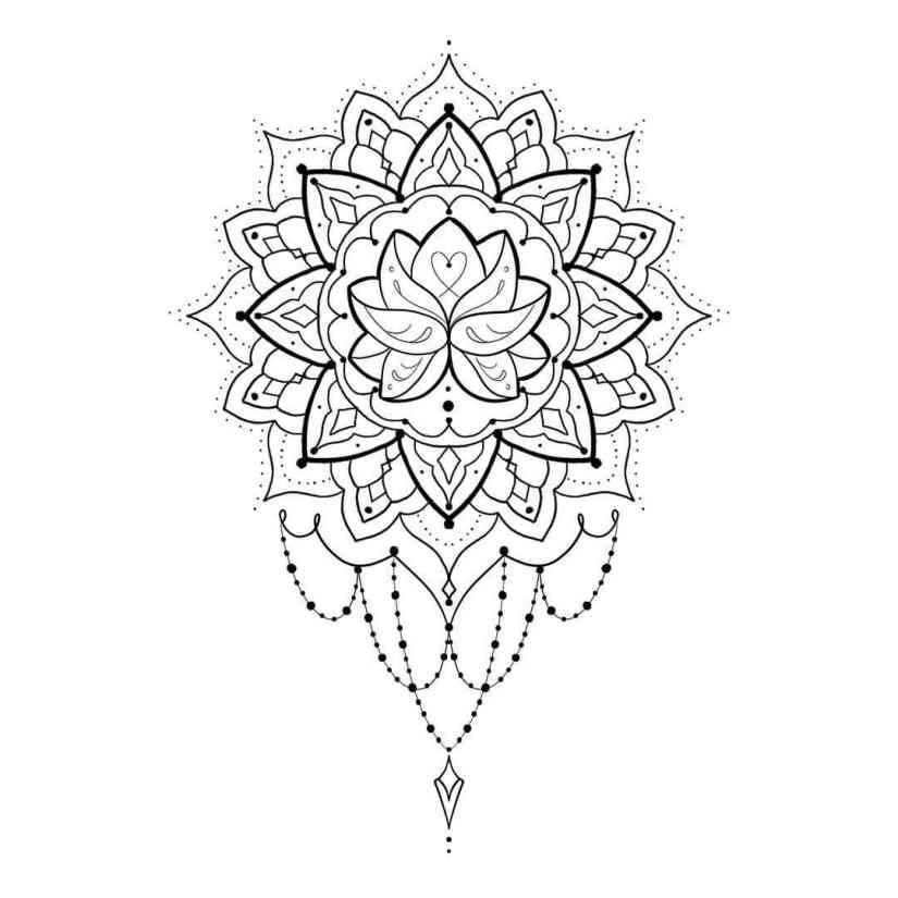 Lotus Tattoos 2020081923 - 20+ Amazing Lotus Tattoos & Meanings