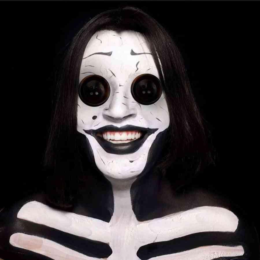 Coraline Makeup 2020090303 - Other Coraline Makeup for Halloween
