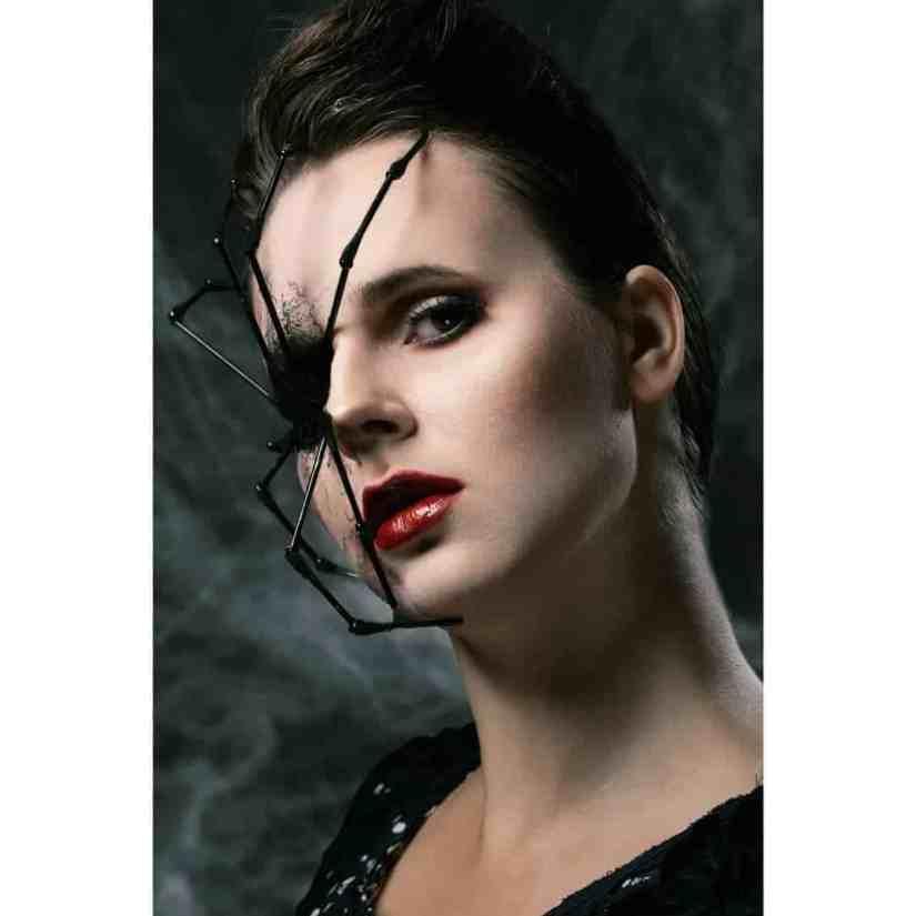 spider makeup 2020090703 - 20+ Creepy Spider Makeup for Halloween 2020