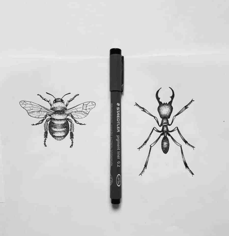 Bumblebee Tattoo 2020102622 - 20+ Attractive Bumblebee Tattoo Designs and Meanings