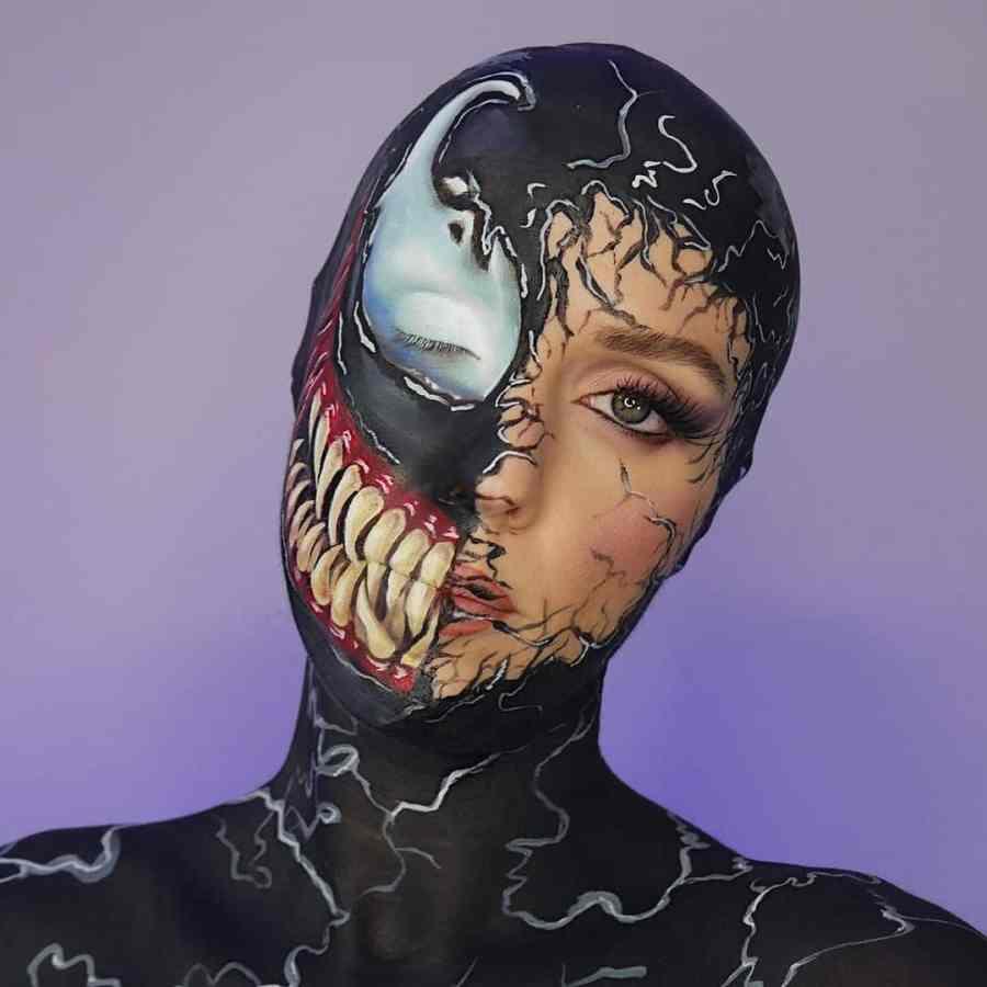 Halloween Venom Makeup 2020100510 - 10+ Halloween Venom Makeup Extreme Fear