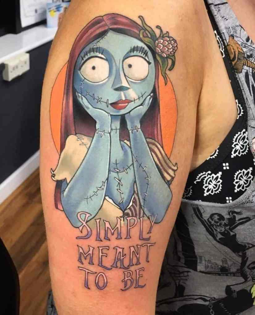 Jack Skellington Tattoos and Sally Tattoos 2020101209 - 20+ Jack Skellington Tattoos and Sally Tattoos
