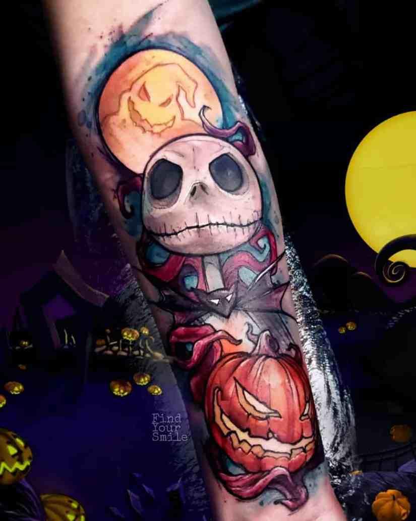 Jack Skellington Tattoos and Sally Tattoos 2020101222 - 20+ Jack Skellington Tattoos and Sally Tattoos
