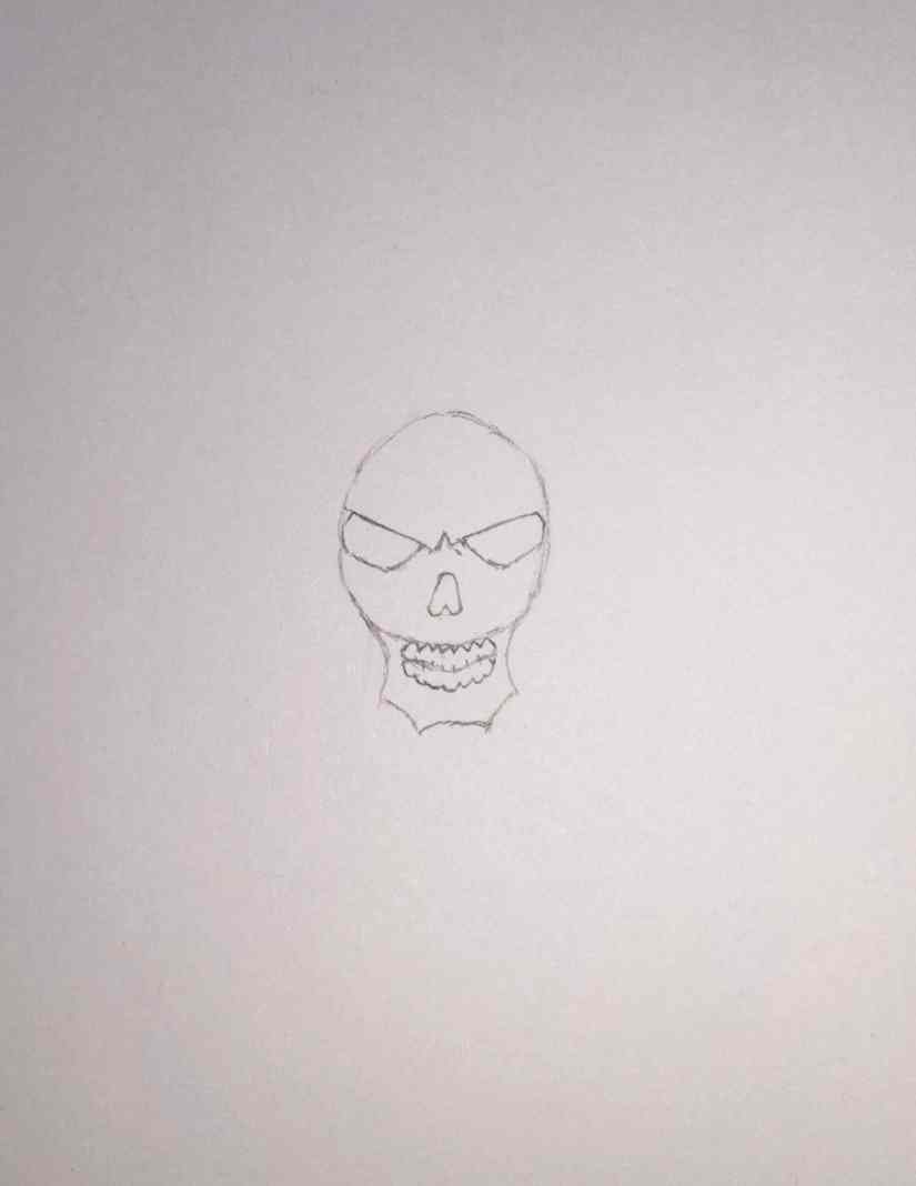 draw grim reaper 2020101505 - How to Draw Grim Reaper Face - Step by Step Tutorial