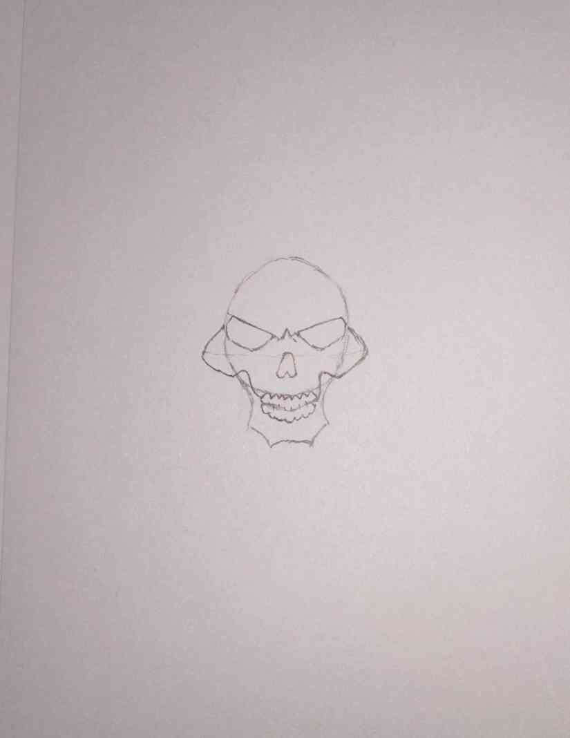 draw grim reaper 2020101506 - How to Draw Grim Reaper Face - Step by Step Tutorial
