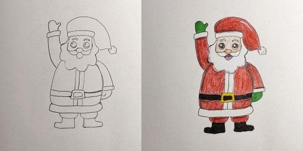 Draw-Santa-Claus-20201202