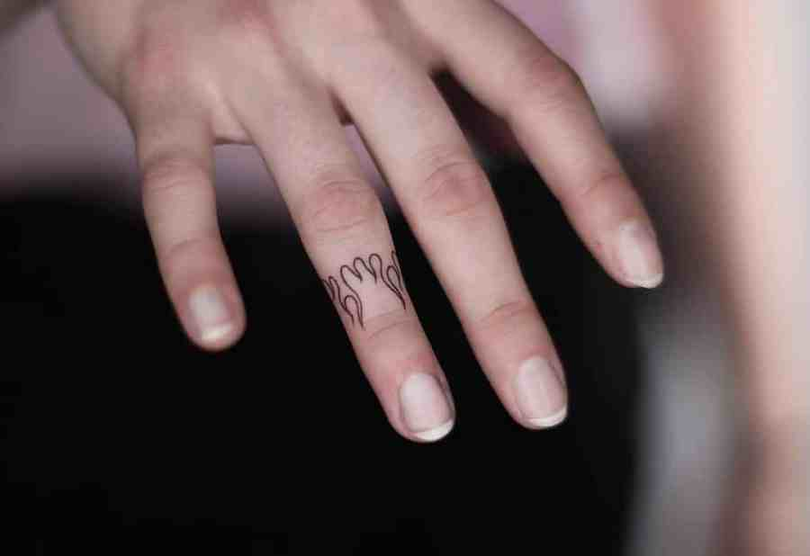 Finger Tattoos 2021050207 - The Best Finger Tattoos to Impress You
