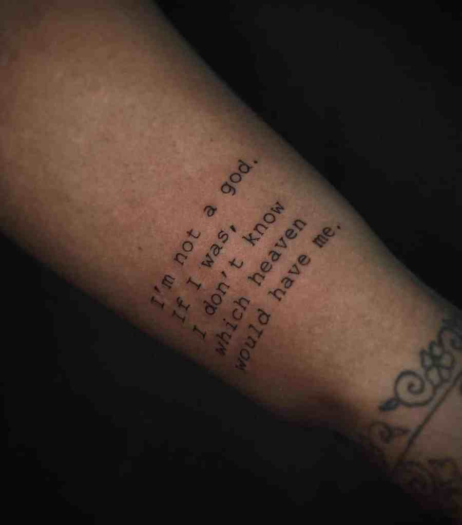 Quote tattoos 2021051713 - Thought-provoking Quote Tattoos to Inspire You