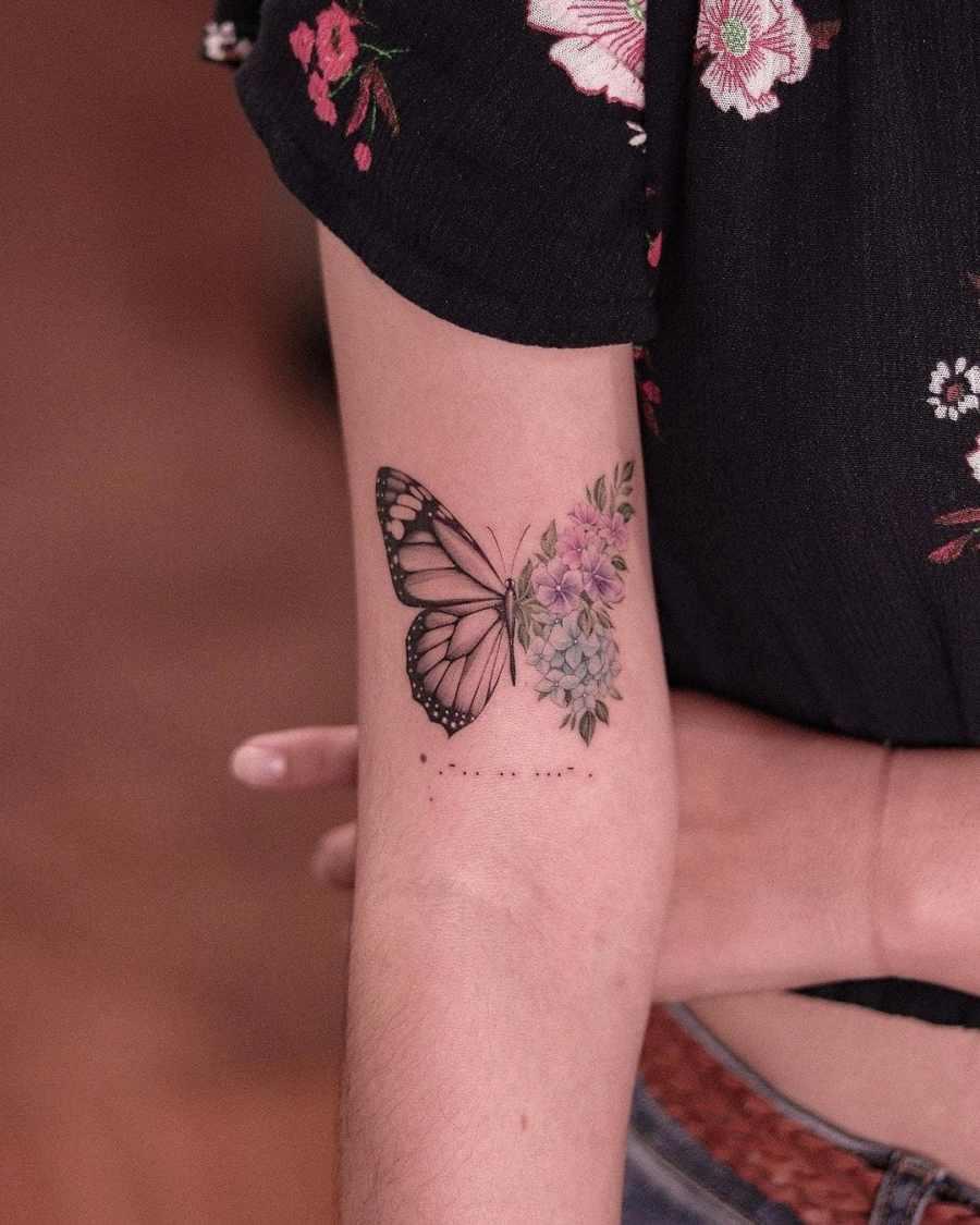 February Birth Flower Tattoos 2021062106 - February Birth Flower Tattoos Meaning and Ideas