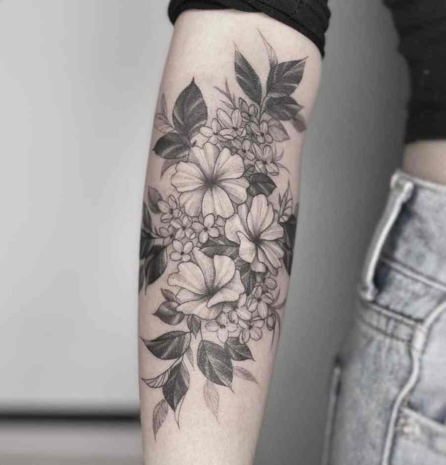 February Birth Flower Tattoos 2021062107 - February Birth Flower Tattoos Meaning and Ideas