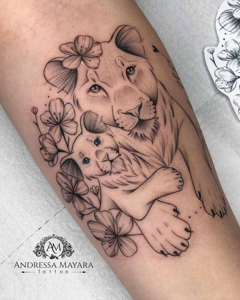 lion tattoo 2021060801 - 10+ Lion Tattoo Designs to Give You Power